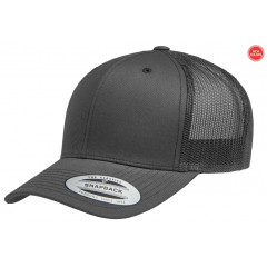 Кепка FlexFit Retro Trucker Charcoal