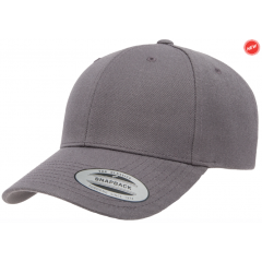Кепка FlexFit Curved Visor Snapback Dark Grey