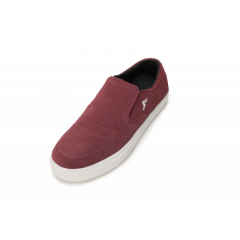 Кеды Слипоны Footprint Technologies Citrus Burgundy