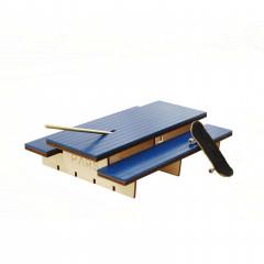 Фингерпарк PARS P-Table деревянный синий верх