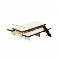 Фингерпарк Polejam Table деревянный верх