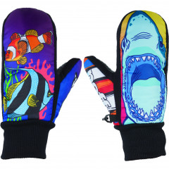 Варежки сноубордические детские Neff Under ocean